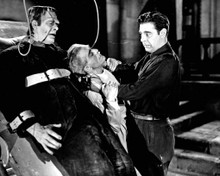 Lon Chaney Jr. & Boris Karloff in House of Frankenstein Poster and Photo