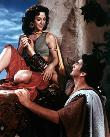 Hedy Lamarr & Victor Mature in Samson and Delilah (1949) Poster and Photo