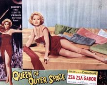 Zsa Zsa Gabor in Queen of Outer Space Poster and Photo