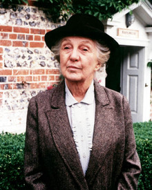 Joan Hickson in Miss Marple Poster and Photo