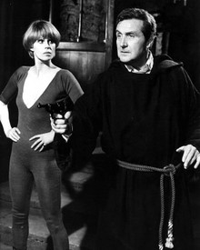 Patrick MacNee & Joanna Lumley in The New Avengers Poster and Photo