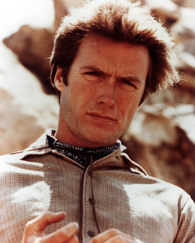 Clint Eastwood in Rawhide Poster and Photo