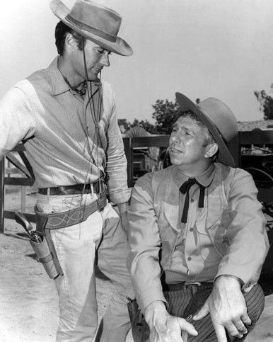 Clint Eastwood & Slim Pickens in Rawhide Poster and Photo