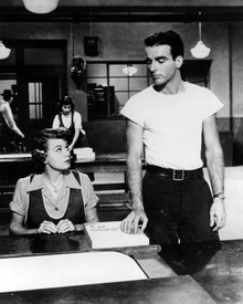 Montgomery Clift & Shelley Winters in A Place in the Sun Poster and Photo