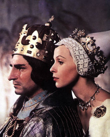 Laurence Olivier & Claire Bloom in Richard III (1954) Poster and Photo