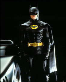 Michael Keaton in Batman Poster and Photo
