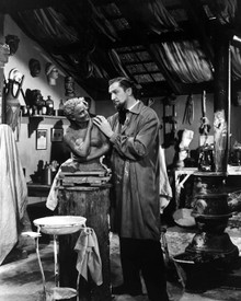 Vincent Price in House of Wax (1953) Poster and Photo