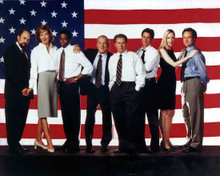 Martin Sheen & Rob Lowe in West Wing Poster and Photo