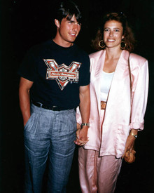 Tom Cruise & Mimi Rogers Poster and Photo