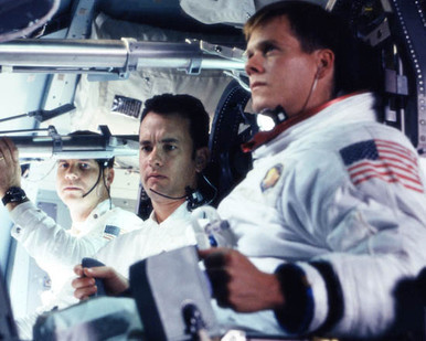 Bill Paxton & Tom Hanks in Apollo 13 Poster and Photo