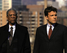 Ben Affleck & Morgan Freeman in The Sum of All Fears Poster and Photo