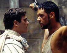 Joaquin Phoenix & Russell Crowe in Gladiator (2000) Poster and Photo