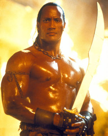 Dwayne Johnson in The Scorpion King Poster and Photo