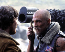 Matthew McConaughey & Christian Bale in Reign of Fire Poster and Photo
