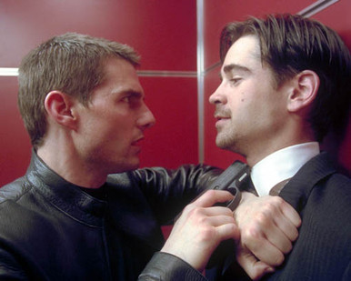 Tom Cruise & Colin Farrell in Minority Report Poster and Photo