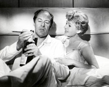 Rex Harrison & Rita Hayworth in The Happy Thieves Poster and Photo