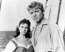 Burt Lancaster & Eva Bartok in The Crimson Pirate Poster and Photo