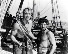 Burt Lancaster & Nick Cravat in The Crimson Pirate Poster and Photo