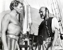Burt Lancaster & Noel Purcell in The Crimson Pirate Poster and Photo