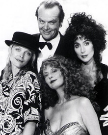 Cher & Susan Sarandon in The Witches of Eastwick Poster and Photo