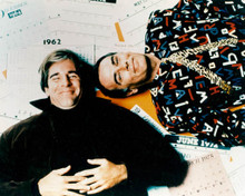 Dean Stockwell & Scott Bakula in Quantum Leap Poster and Photo
