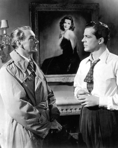Dana Andrews & Clifton Webb in Laura Poster and Photo