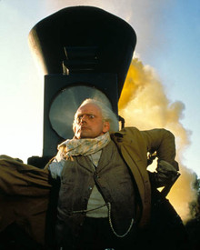 Christopher Lloyd in Back to the Future Part III Poster and Photo
