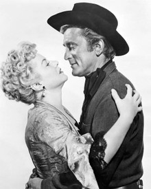 Kirk Douglas & Claire Trevor in Man Without A Star Poster and Photo