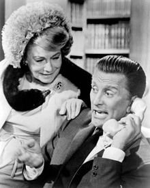 Kirk Douglas & Thelma Ritter in For Love Or Money Poster and Photo