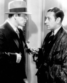 Paul Muni & George Raft in Scarface (1932) Poster and Photo