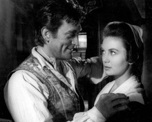 Kirk Douglas & Janette Scott in The Devil's Disciple Poster and Photo