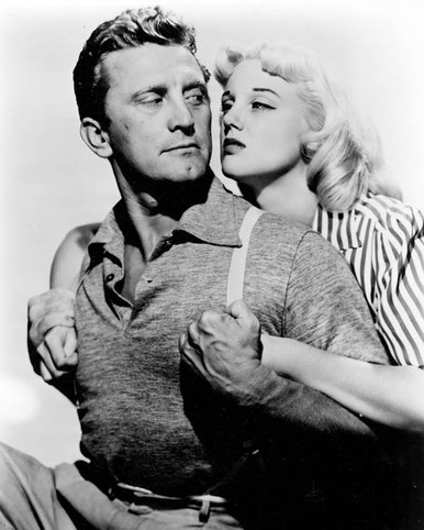 Kirk Douglas & Jan Sterling in Ace In the Hole a.k.a. The Human Interest Story Poster and Photo