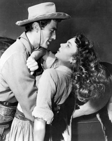 Jennifer Jones & Gregory Peck in Duel in the Sun Poster and Photo