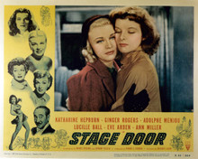 Poster & Ginger Rogers in Stage Door Poster and Photo
