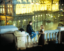 Ethan Hawke & Julie Delpy in Before Sunrise Poster and Photo