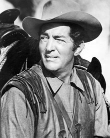 Dean Martin in Texas Across the River Poster and Photo