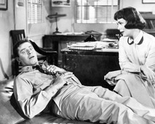 Jerry Lewis & Phyllis Kirk in The Sad Sack Poster and Photo