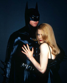 Val Kilmer & Nicole Kidman in Batman Forever Poster and Photo
