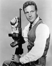 Robert Stack in The Untouchables (1959) Poster and Photo