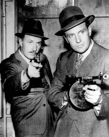 Keenan Wynn & Robert Stack in The Untouchables (1959) Poster and Photo