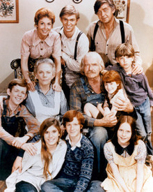 Cast in The Waltons Poster and Photo