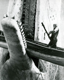 Gregory Peck in Moby Dick (1956) Poster and Photo