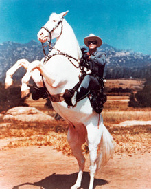 Clayton Moore in The Lone Ranger (1949) Poster and Photo