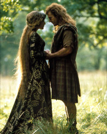 Mel Gibson & Sophie Marceau in Braveheart Poster and Photo
