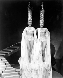 Betty Grable & June Haver in The Dolly Sisters Poster and Photo