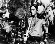 Kevin Sorbo & Eric Close in Hercules: The Legendary Journeys Poster and Photo