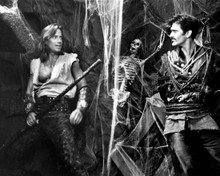 Kevin Sorbo & Bruce Campbell in Hercules: The Legendary Journeys Poster and Photo