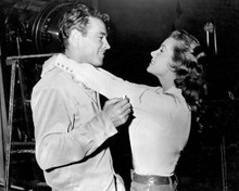 Guy Madison & Rhonda Fleming in Bullwhip Poster and Photo