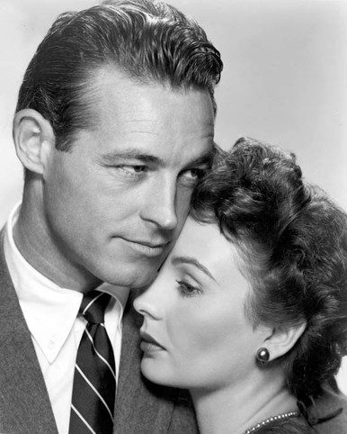 Guy Madison & Jean Simmons in Hilda Crane Poster and Photo