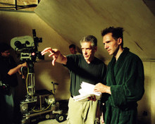 Ralph Fiennes & David Cronenberg in Spider Poster and Photo